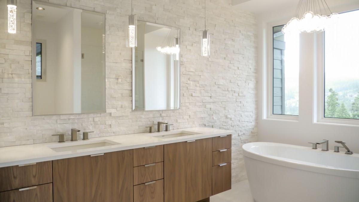 Bathroom Tiled wall