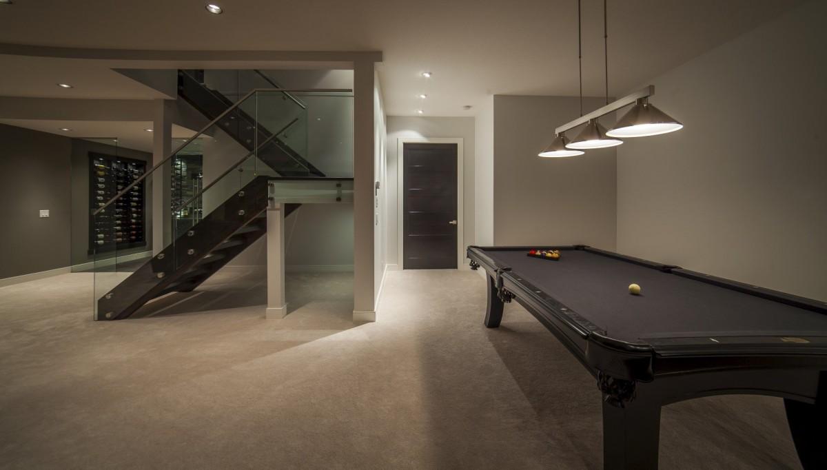Modern Home Pool Table
