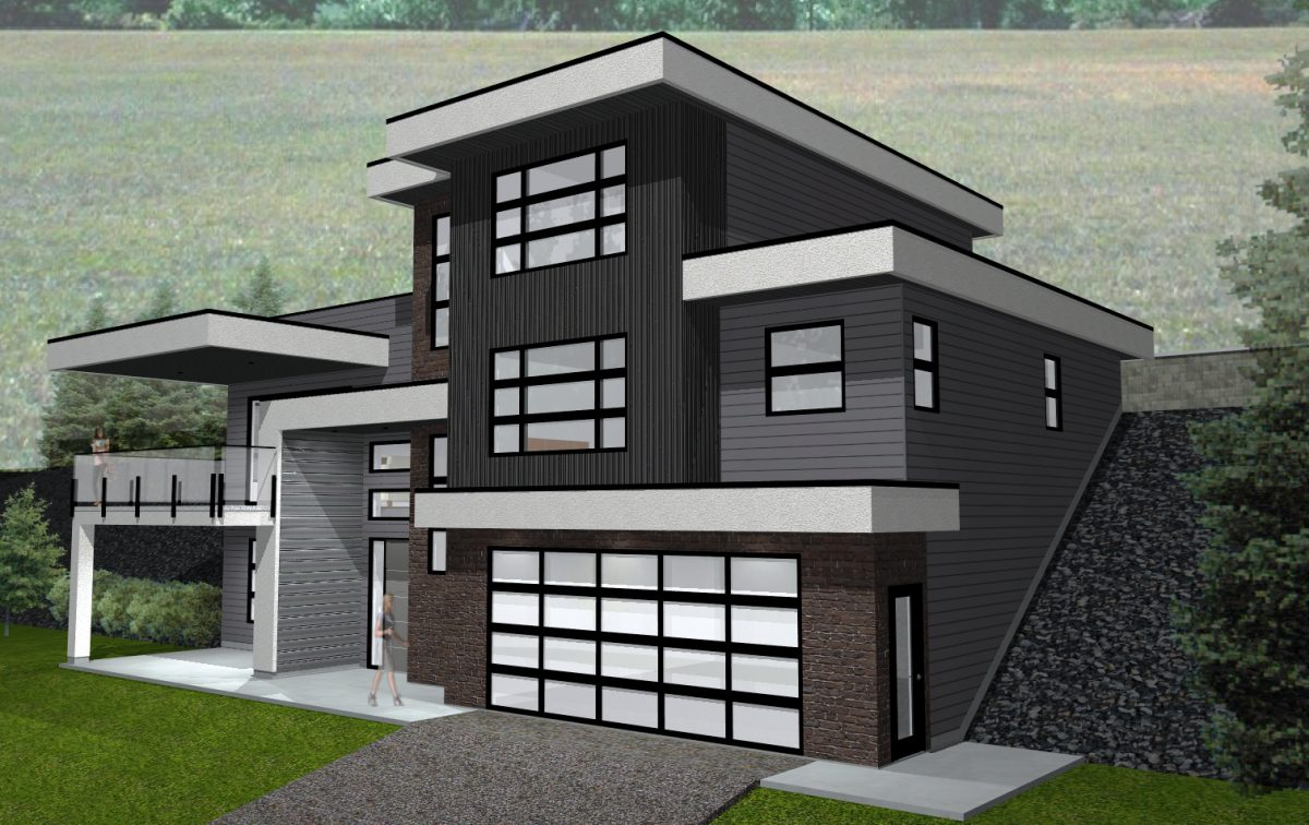 Lot 26 Boynton Place (7) - Contemporary Home Rendering