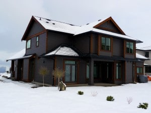 Kettle Valley - Construction in Winter