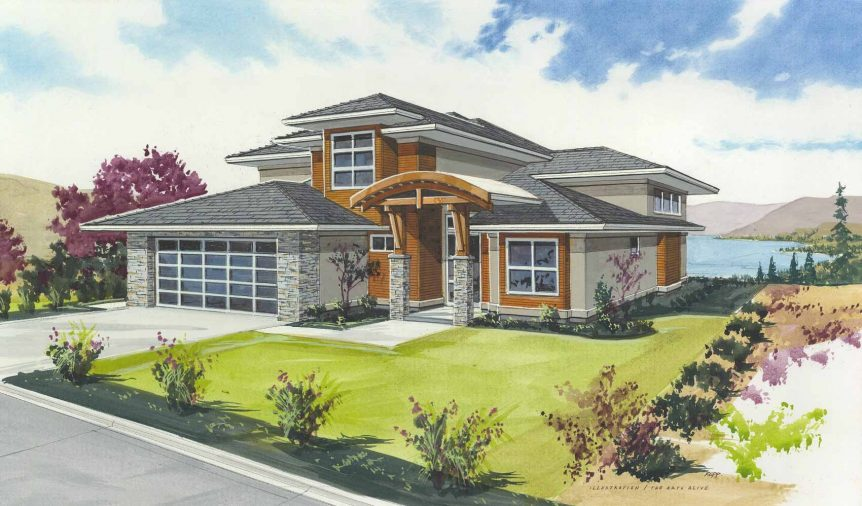 The-Vistas - Show Home - Rendering