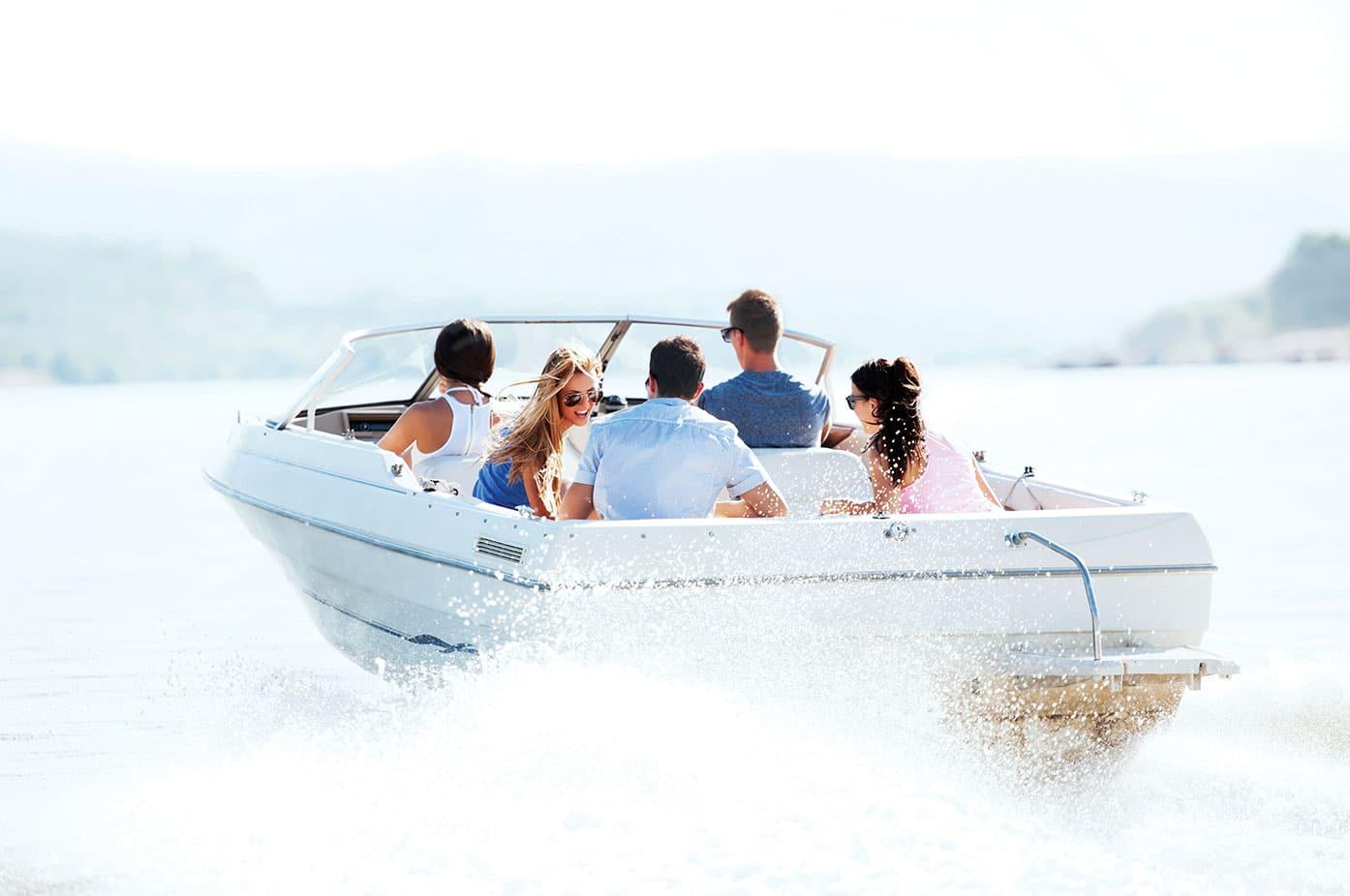 Kelowna Lake Boating
