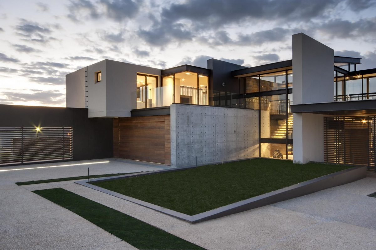 concrete home