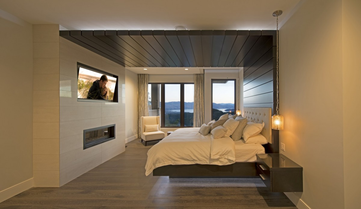 Floating bedroom