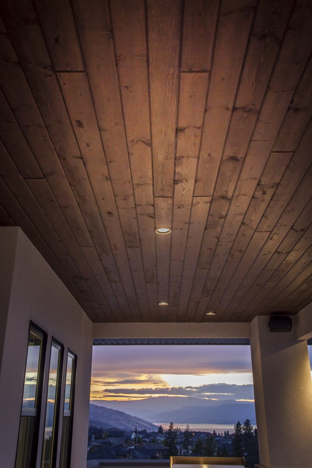 Modern Home Deck Roofing