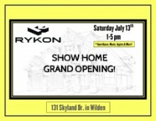 Wilden Show Home Grand Opening!