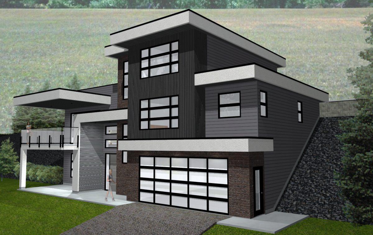 Lot 26 Boynton Place (7) - Contemporary Home Rendering