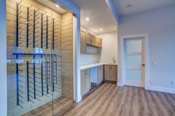 Wine rack - McKinley Beach - Show Home - Custom Home (12)