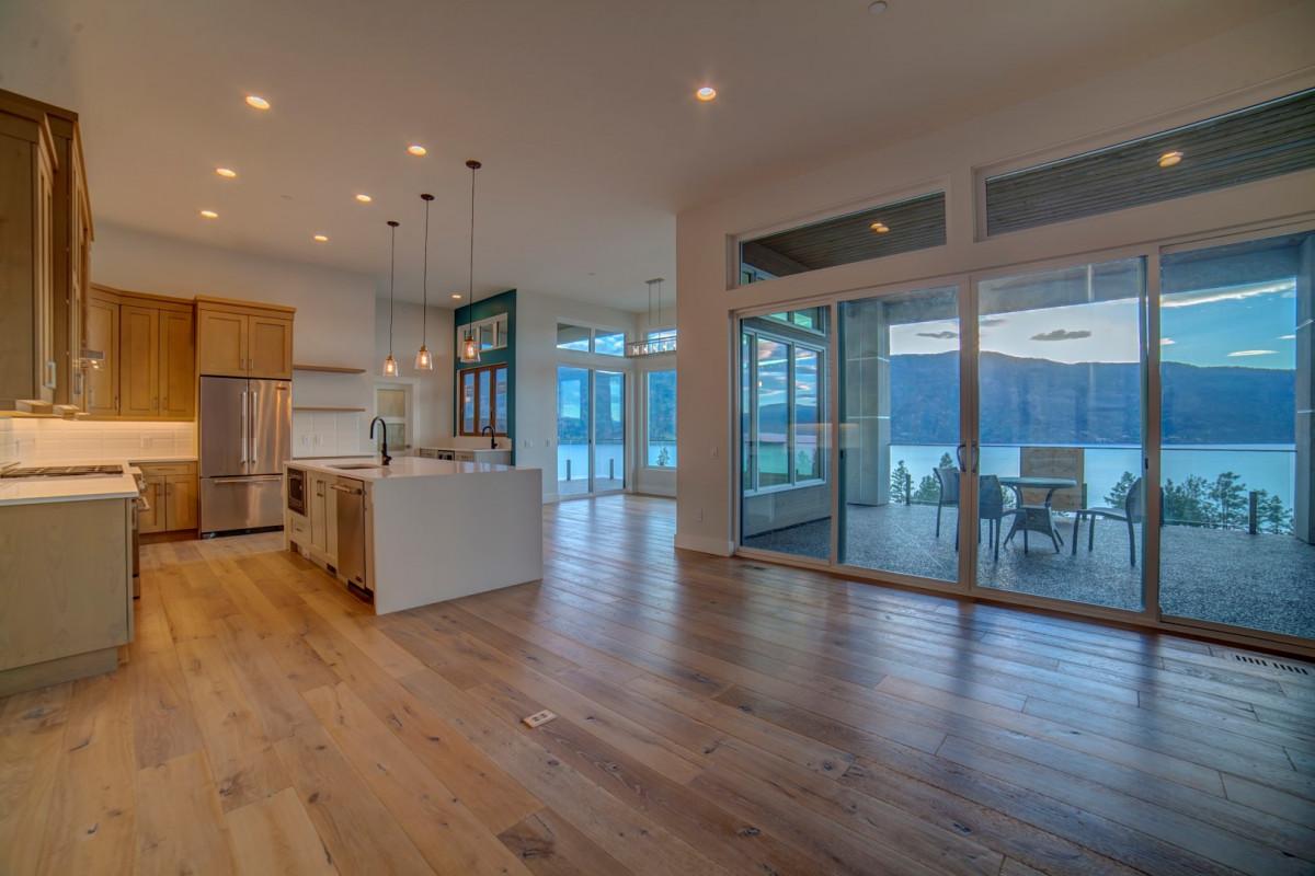 mckinley beach show home open concept rykon construction. Black Bedroom Furniture Sets. Home Design Ideas