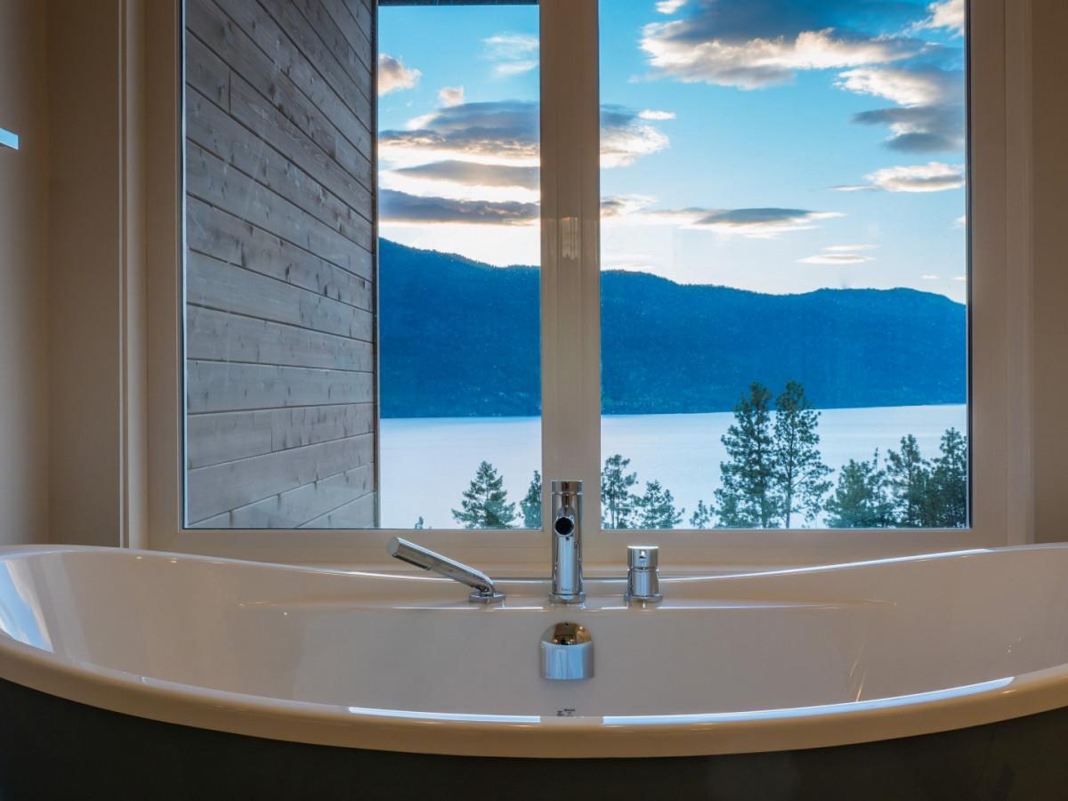 Bathtub view McKinley Beach - Show Home - Custom Home (25)