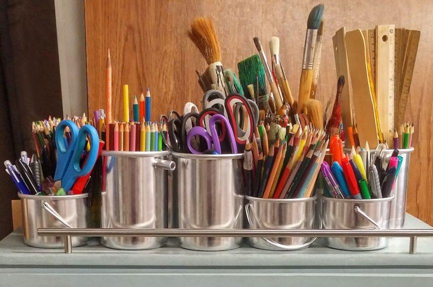 Preparing the Kids' School Gear and Storage