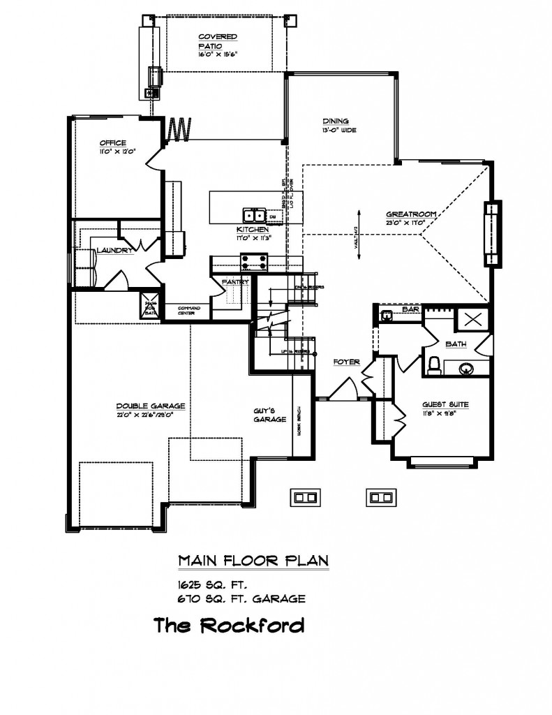 100 Custom Floor Plans Mountain Aire Plan
