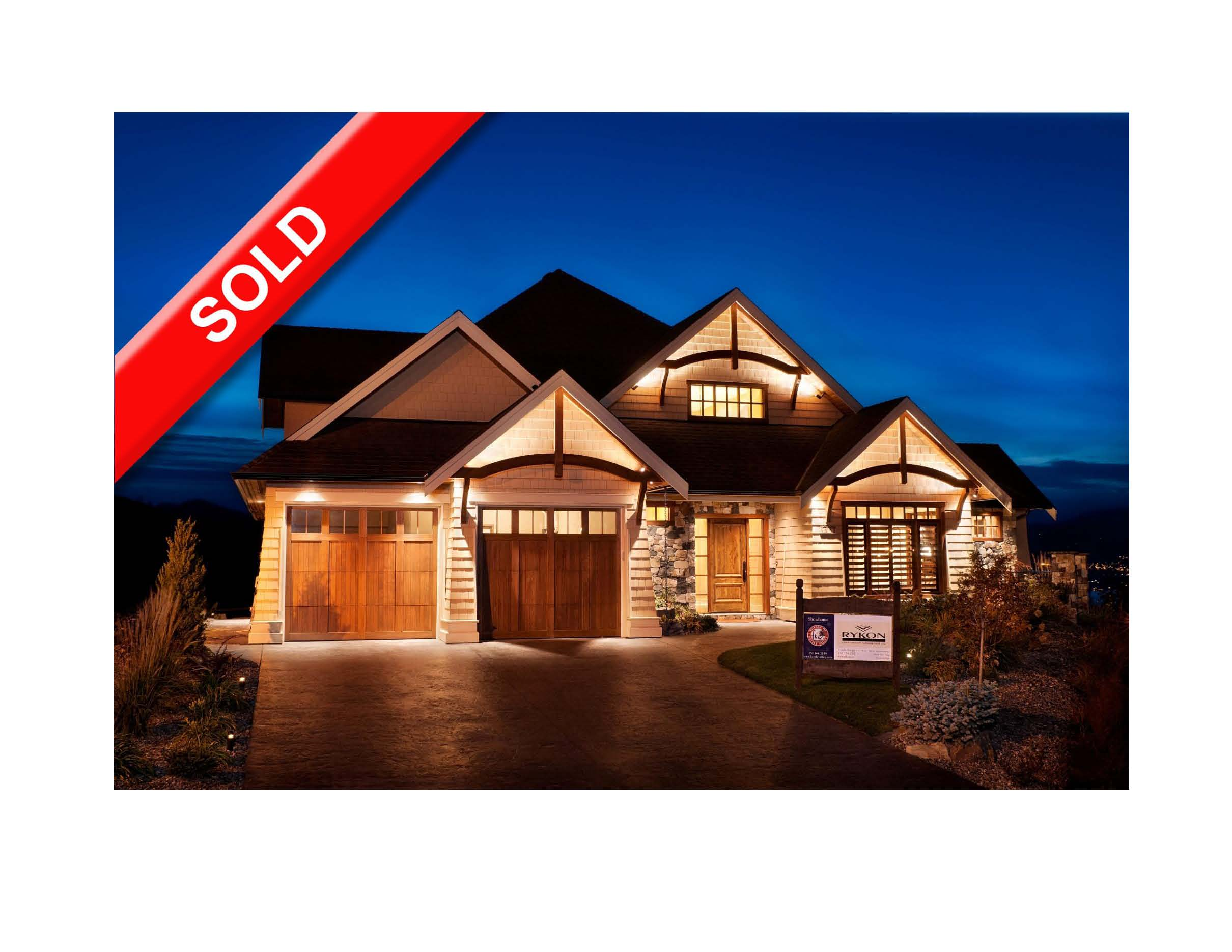 Rykon Show Home - Sold