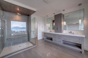 Glassy Bathroom
