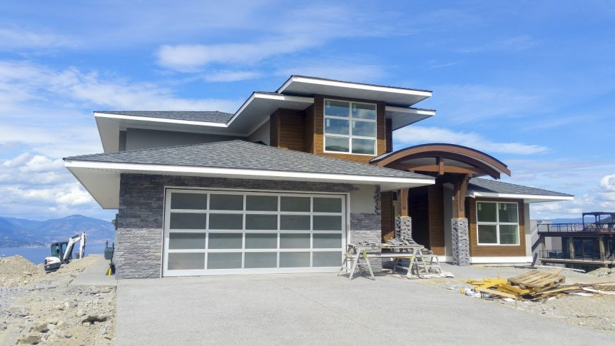 the vistas show home kettle valley progress