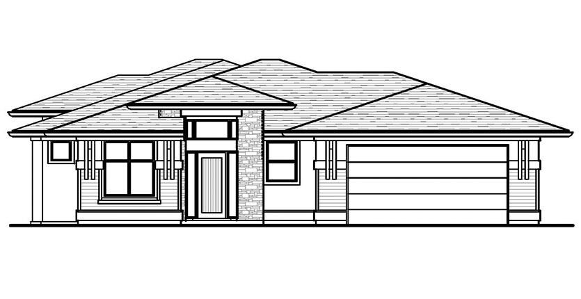The Aldridge Custom Home Plan