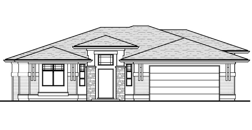 The Argyle Custom Home Designed Plan