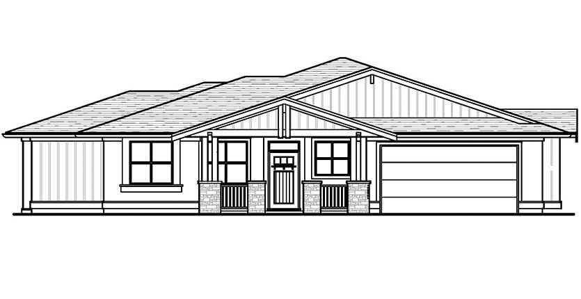 The Auburn Custom Home Designed Plan