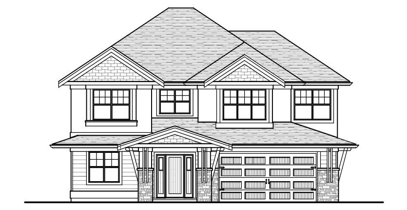 The Cambie Custom Home Designed Plan