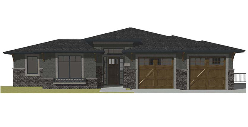 The Kino Custom Home Designed Plan