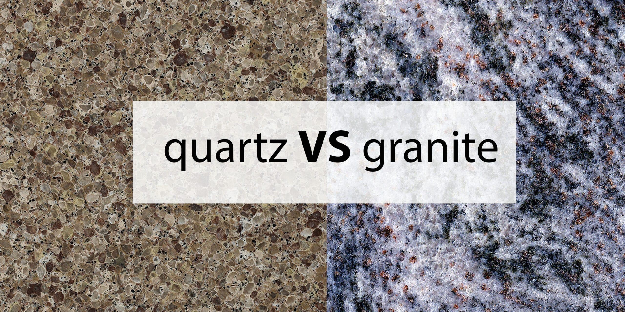 Granite countertop cost granite kitchen countertops for Quartz countertop vs granite
