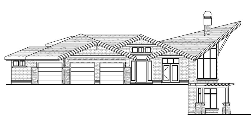 The Regal Custom Home Designed Plan