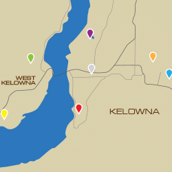 Kelowna Map - Sales