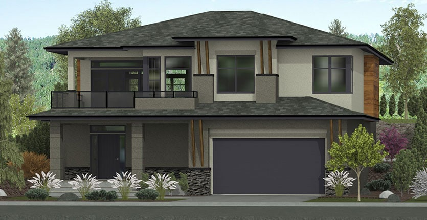 The Morgan Custom Home Designed Plan