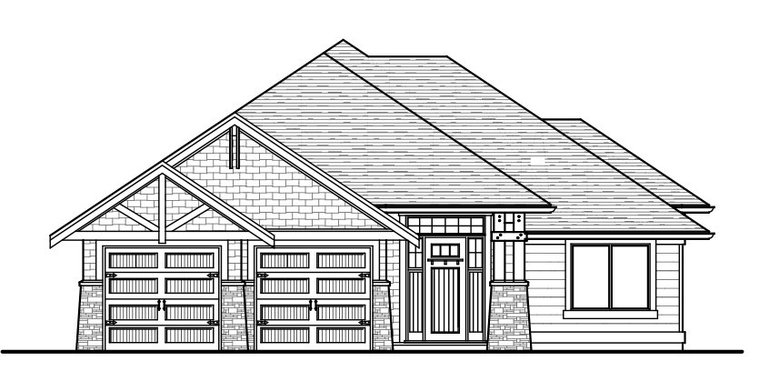 The Rocky Custom Home Designed Plan